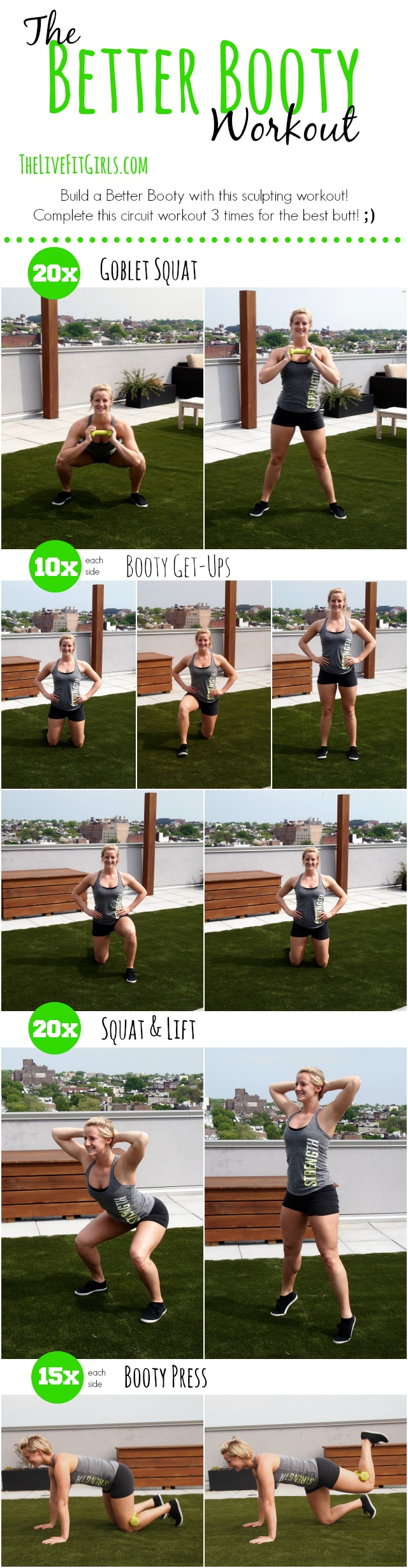 The Better Booty Workout
