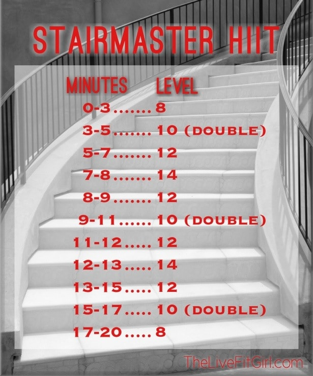 StairMaster HIIT • The Live Fit Girls