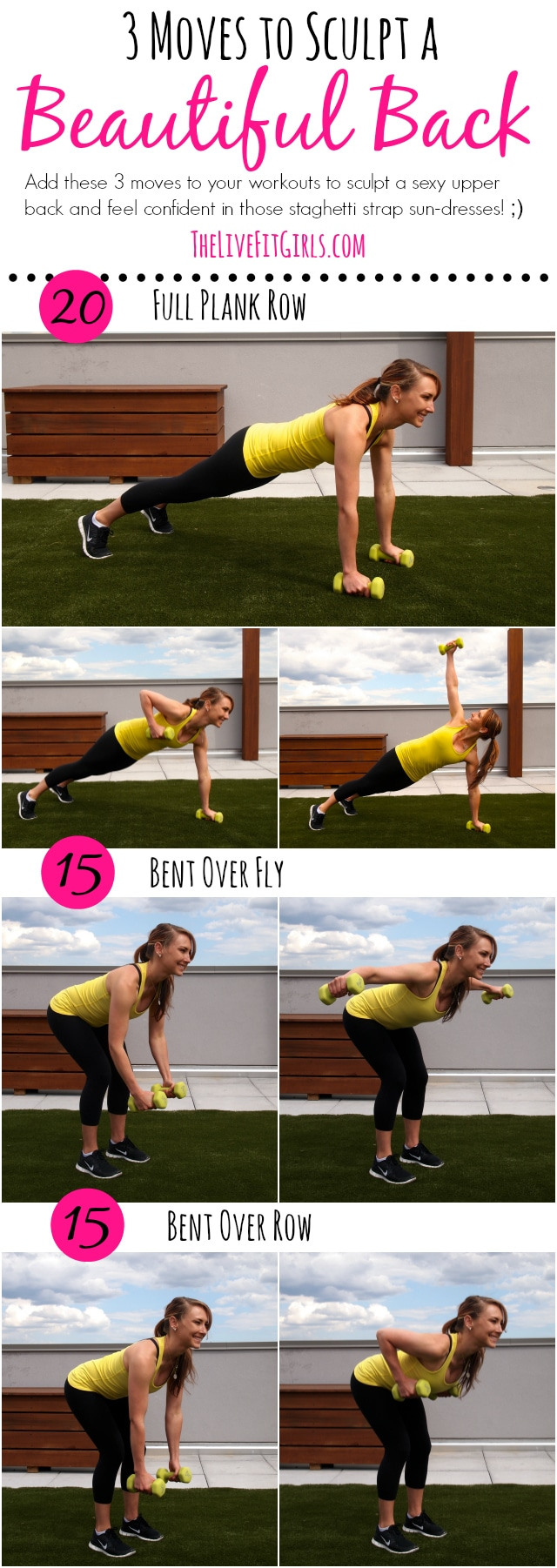 3 Moves to Sculpt a Beautiful Back