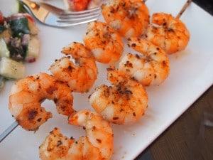 Simple Grilled Shrimp