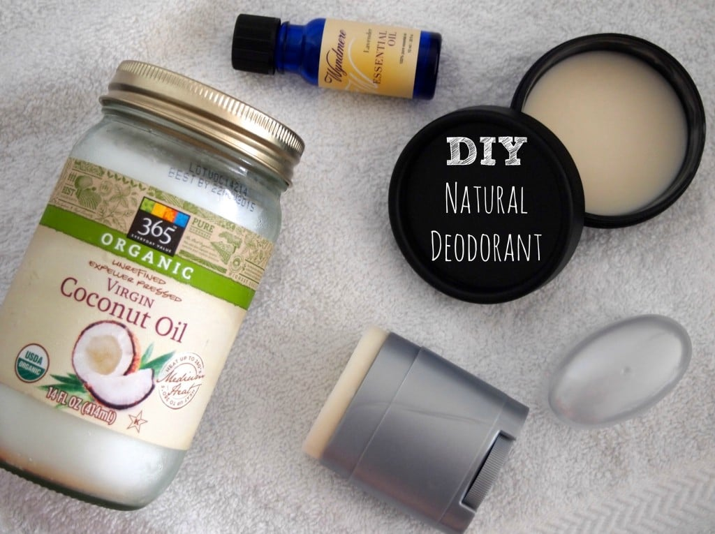 Natural Coconut Oil Deodorant • The