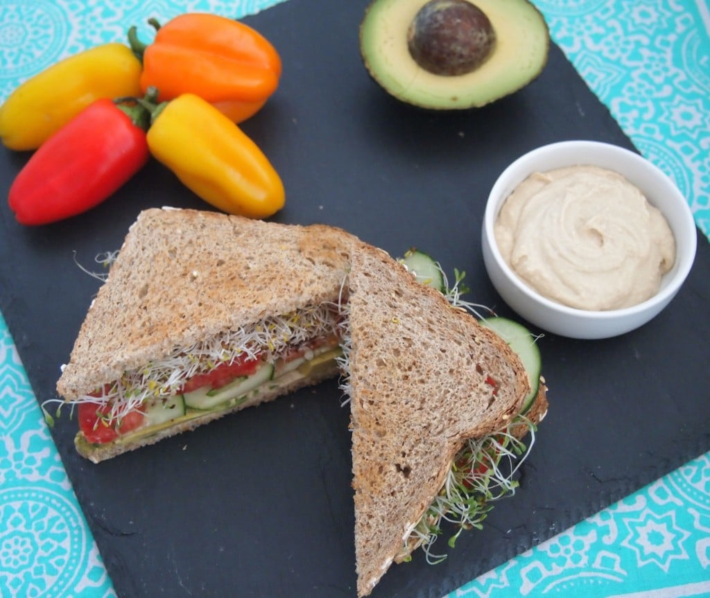 Avocado California Sandwich