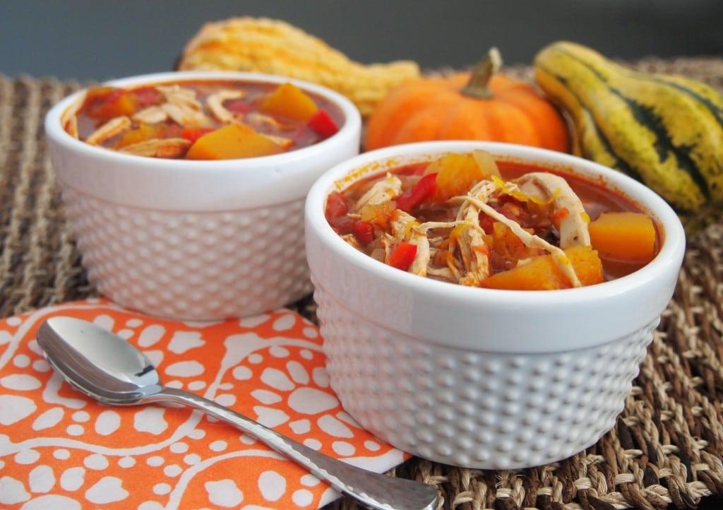 Pumpkin Chicken Chili