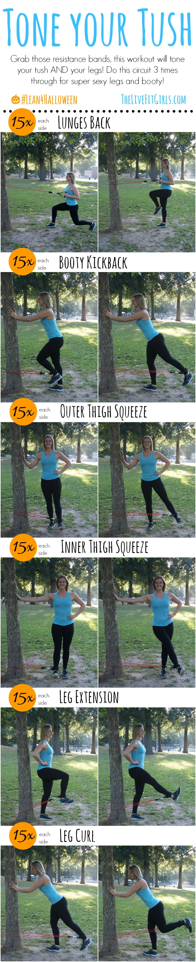Tone your Tush & Legs Workout