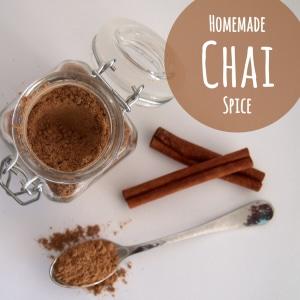 Homemade Chai Spice ~ YUM!!