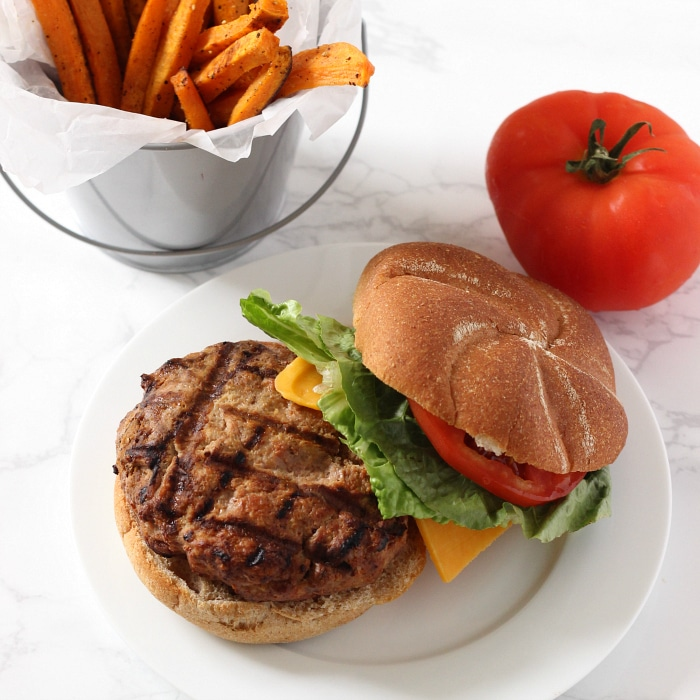The Best Turkey Burger Recipe The Live Fit Girls