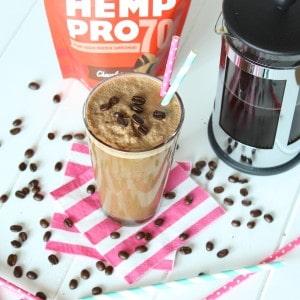 Mocha Frappuccino Protein Shake!