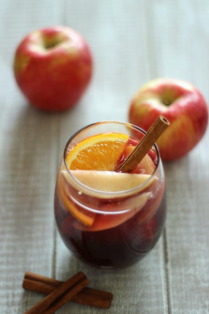 Honeycrisp Apple Cider Sangria