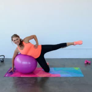 Total Body Stability Ball Toning