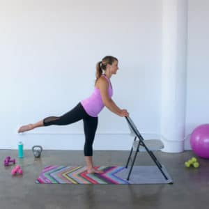 Booty Sculpting Barre Workout