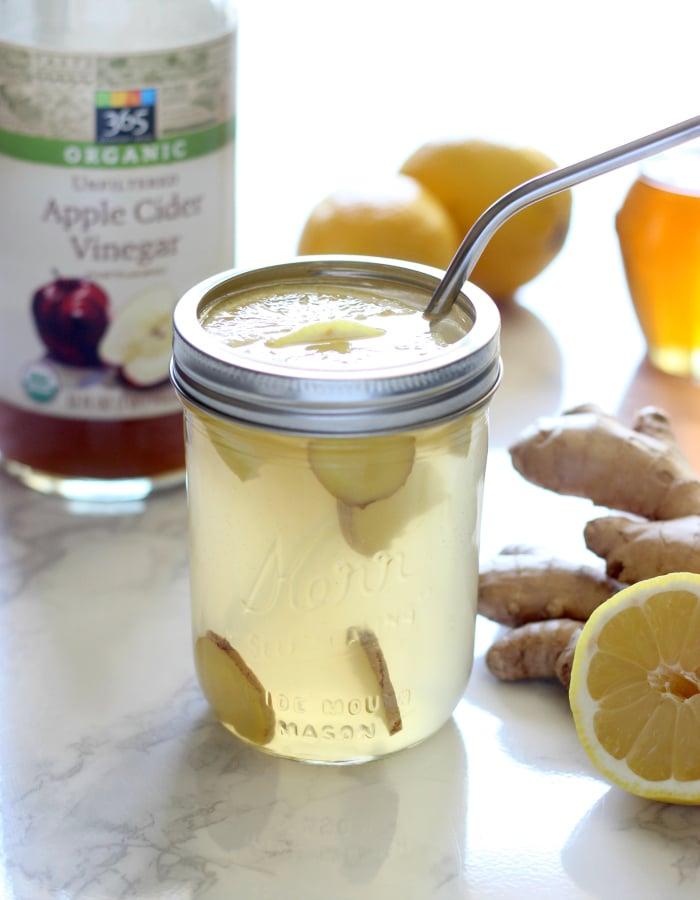 Ginger Lemon Detox Drink
