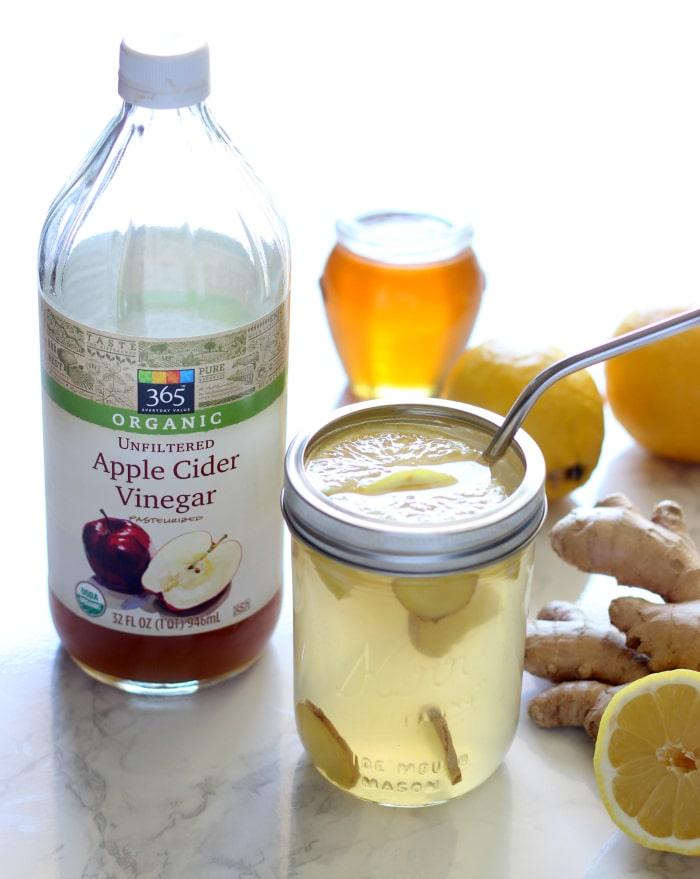 Ginger Lemonade Detox Drink