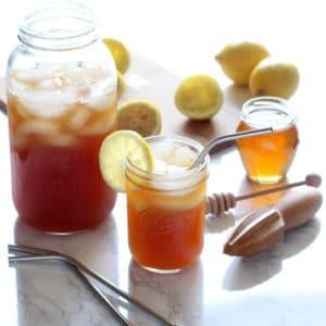 Lightened Up Lemonade Iced Tea