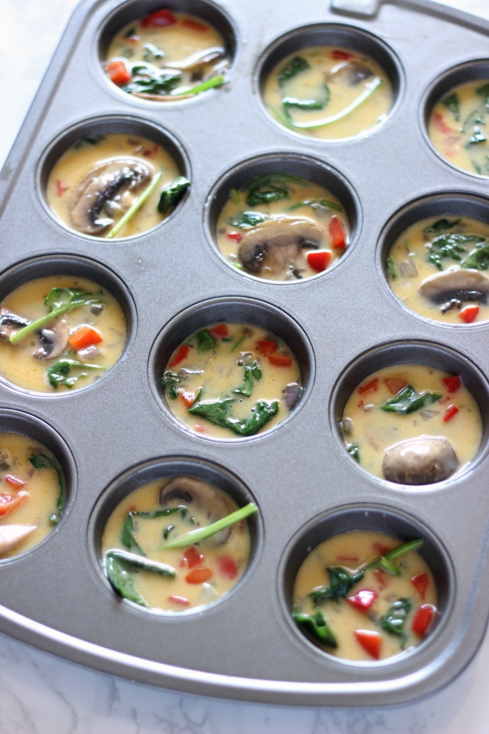 Vegetable Egg Muffins 2