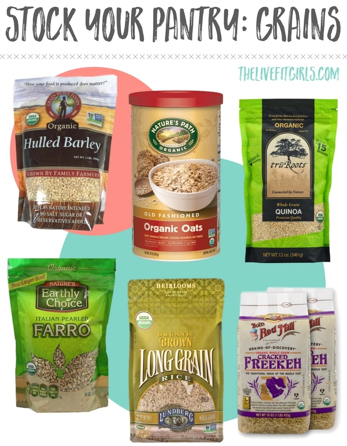 Stock Your Pantry- Grains