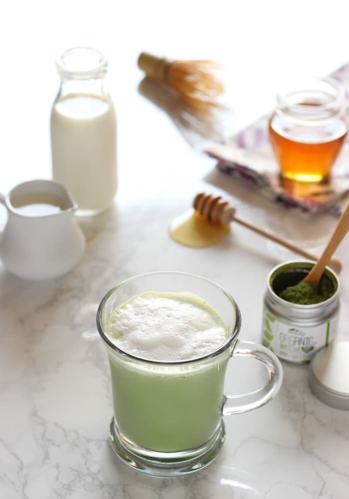 how-to-make-a-skinny-match-latte