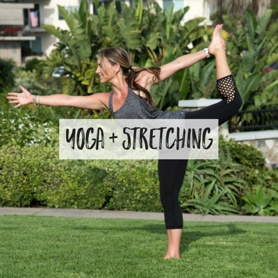 yoga and stretching routines • the live fit girls